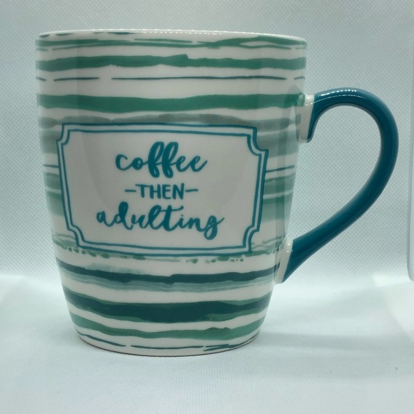 Threshold Other - Coffee Then Adulting Jumbo Coffee Mug 24oz